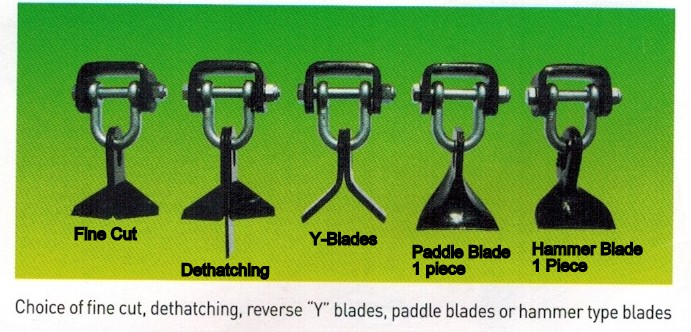 Blade Choices For Befco Hurricane Flail Mowers