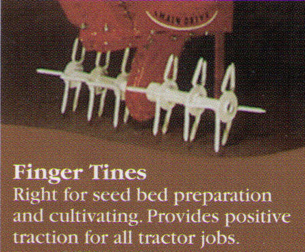 Optional Finger Tine Assembly