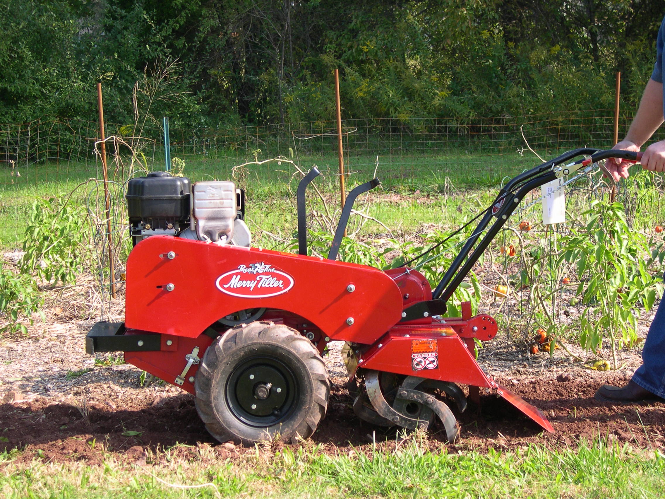 Rear Tine Tiller Model