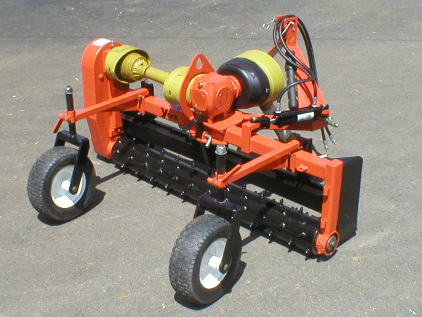 Five Foot Wide PTO Powered Model Designed For Compact Tractors