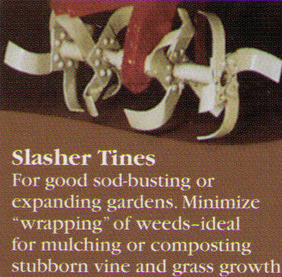 Slasher Tines (These are the standard tines that come with new machines)