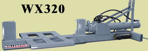 Three Point Hitch Mount Model With 36 Inch Long Log Capacity, 20 Tons Splitting Force