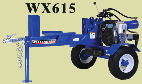 Model WX615 Two Wheel Trailer Mounted (For Off-Road Use Only)